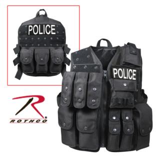 Rothco Black Tactial Raid Vest