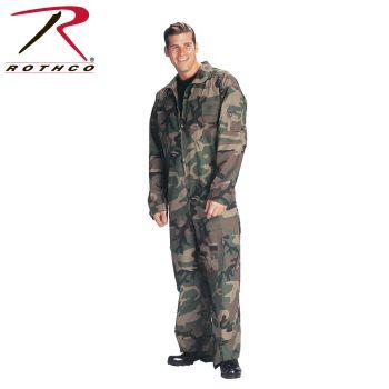 7005 Woodland Camo Flightsuits