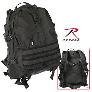Rothco Black Large Transport Pack