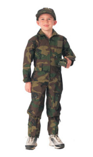 Boy's Woodland Flight Coverall