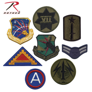 Assorted Military Patches - 50