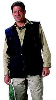 7575 Black Deluxe Safari Outback Vest