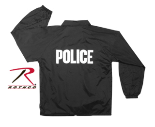 7646 7646 Rothco Lined Coaches Police Jacket