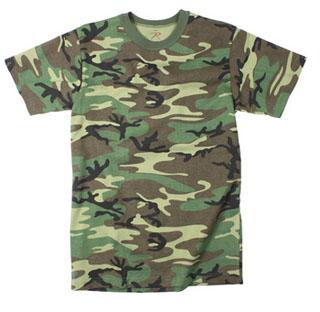Kids Heavyweight Woodland T-Shirts