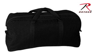 Rothco Canvas Tanker Style Tool Bag - Black