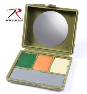 Face Paint Compact / 4 Color Multicam Camouflage