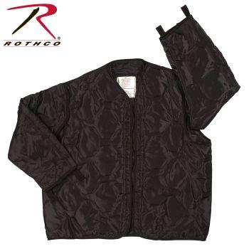 8295 Rothco M-65 Field Jacket Liner - Black