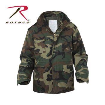 8431 Rothco M-65 Field Jacket w/Liner - Woodland Camo