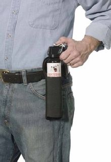 FRONTIERSMAN Bear Spray and Attack Deterrent 9.2 oz with Belt Holster