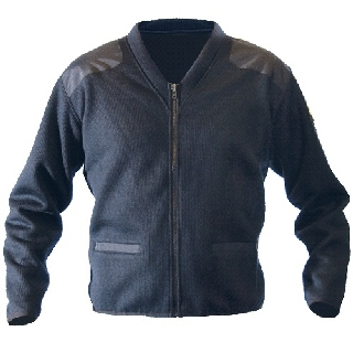 Fleece-Lined Zip Front Sweater