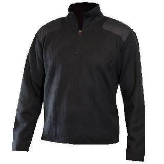 Fleece-Lined Quarter Zip Sweater