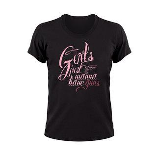 Wanna Have Guns T-Shirt - Women's