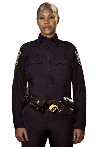 LAPD Style Long Sleeve Performance Duty Shirt Women's