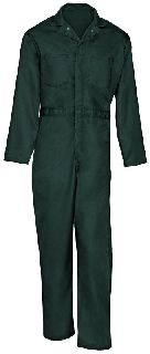 705 Cotton Coverall-Button Front