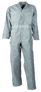 Cotton Coverall-Button Front