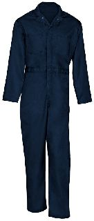 750 Cotton Coverall-Button Front