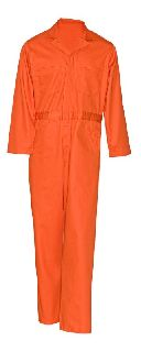 9711 Twill Action Back Coverall