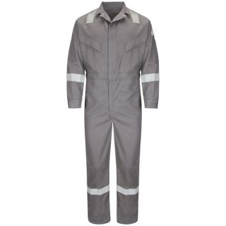 Deluxe Coverall with Reflective Trim-EXCEL FR ComfortTouch - 7 oz.