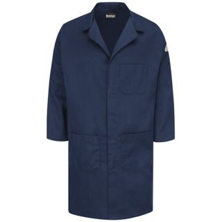 Concealed Snap Front Lab Coat - EXCEL FR ComforTouch - 6 oz.