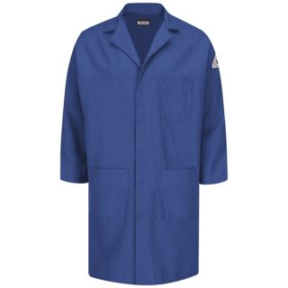 Concealed Snap Front Lab Coat - Nomex IIIA - 6 oz.