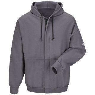 Zip-Front Hooded Fleece Sweatshirt
