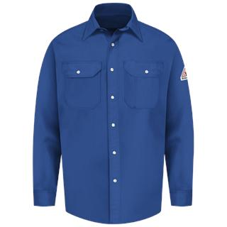 Snap-Front Uniform Shirt - EXCEL FR - 7 oz.