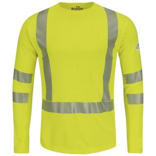 Hi-Visibility Flame-Resistant Long Sleeve T-Shirt - Power Dry FR