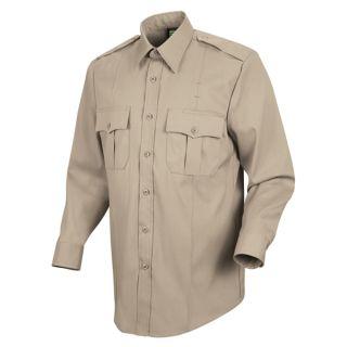 HS1115 New Dimension Stretch Poplin Long Sleeve Shirt