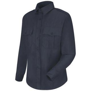 HS1165 New Dimension Stretch Poplin Long Sleeve Shirt
