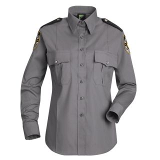 HS1166 New Dimension Stretch Poplin Long Sleeve Shirt