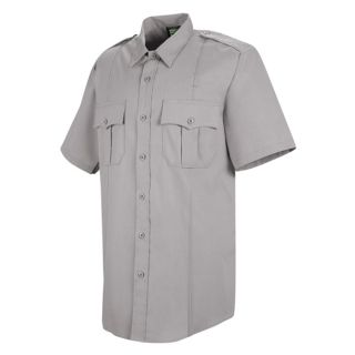 HS1209 New Dimension Stretch Poplin Short Sleeve Shirt