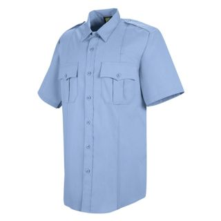 HS1210 New Dimension Stretch Poplin Short Sleeve Shirt
