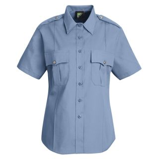 HS1268 New Dimension Stretch Poplin Short Sleeve Shirt