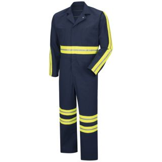 Enhanced Visibility Action Back Coverall