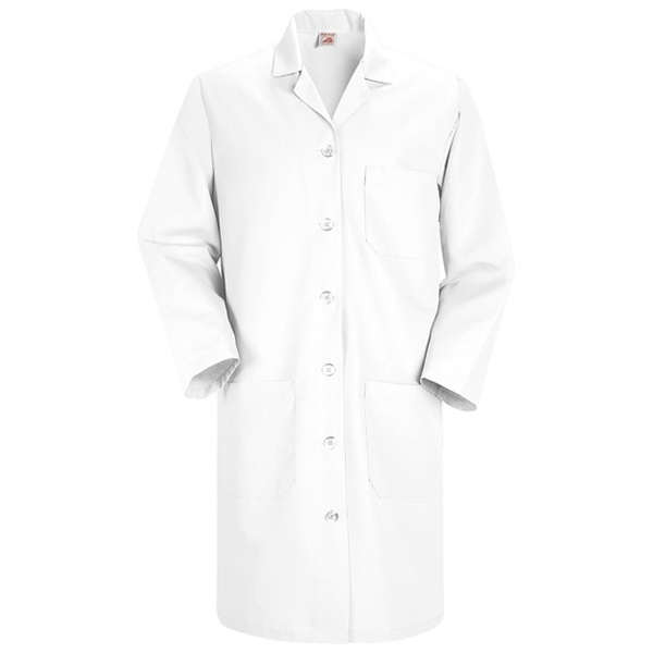 Women's Red Kap Lab Coat for Mayo Clinic Employees