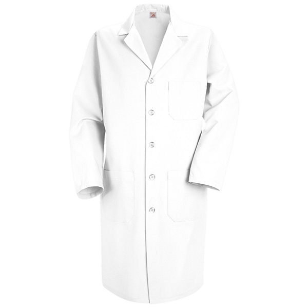 Men's Red Kap Lab Coat for Mayo Clinic Employees