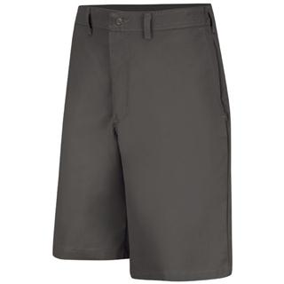 Plain Front Side Elastic Short
