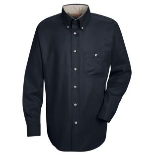 SC74 Men's Cotton Contrast Dress Shirt