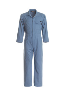 6.5 Pro Work Coverall Med Blue