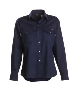 7 oz Indura Long Sleeve Women's Western-Style Shirt