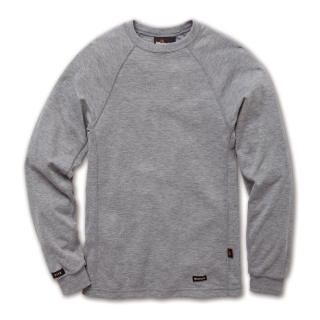 6.7 Tecasafe Knit T-Shirt Ls H.Gray