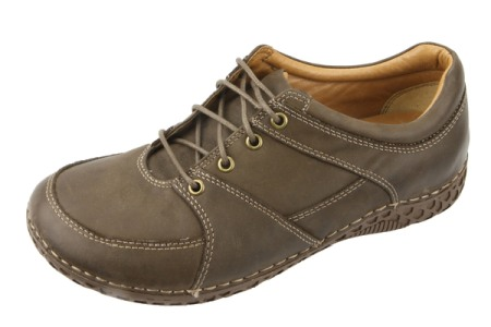 Alegria Men Bartlett Dark Brown Nubuck