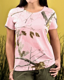 Ladie's Realtree® Camouflage T-Shirt