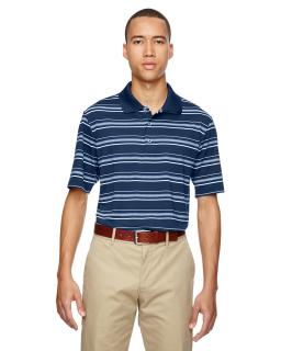 Mens Puremotion® Textured Stripe Polo