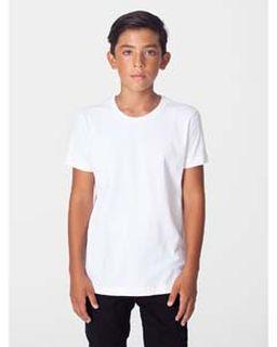 Youth Organic Fine Jersey Short Sleeve Tee