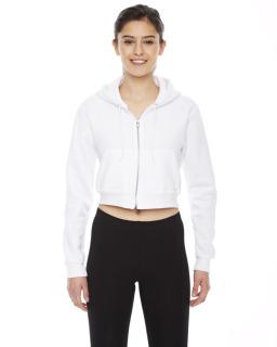 Ladie's Cropped Flex Fleece Zip Hoodie
