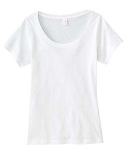 Ladie's Ringspun Sheer Featherweight T-Shirt