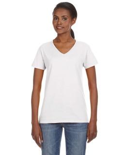 Ladie's Lightweight V-Neck T-Shirt