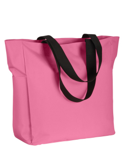 Polyester Zip Tote