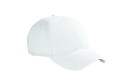 6-Panel Brushed Twill Structured Cap